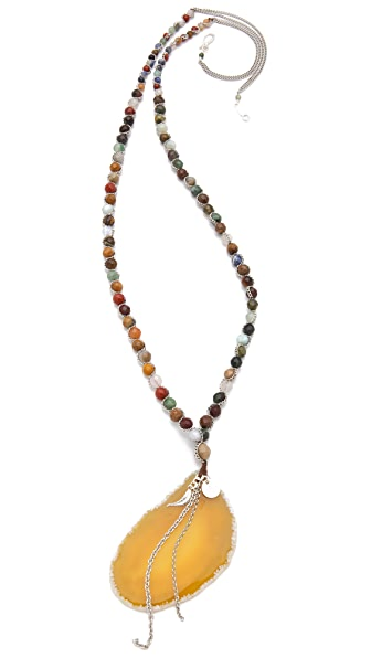Chan Luu Agate Rosary Necklace