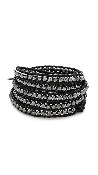 Chan Luu Hematite Wrap Bracelet