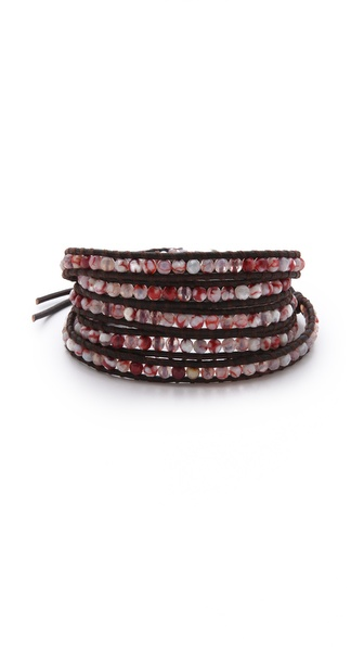Chan Luu Fire Agate Wrap Bracelet