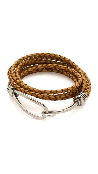 Chan Luu Braided Leather Bracelet