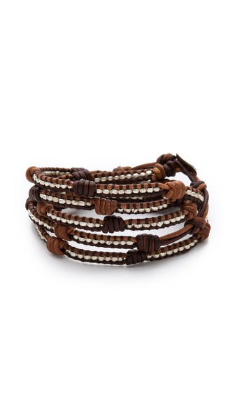 Chan Luu Knotted Wrap Bracelet