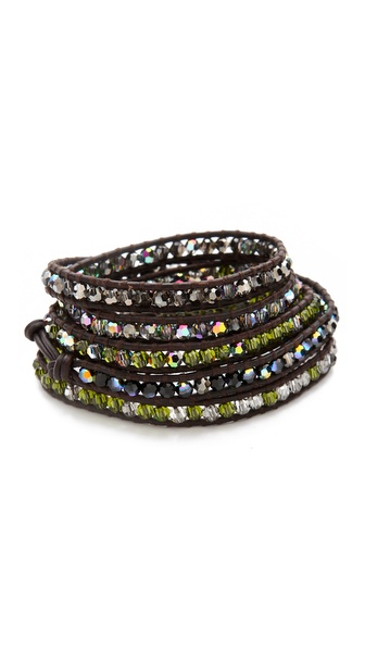 Chan Luu Crystal Wrap Bracelet