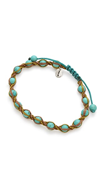 Chan Luu Beaded Single Wrap Bracelet