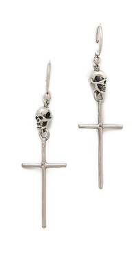 Chan Luu Cross Earrings