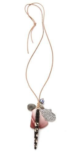 Chan Luu Multi Charm Necklace