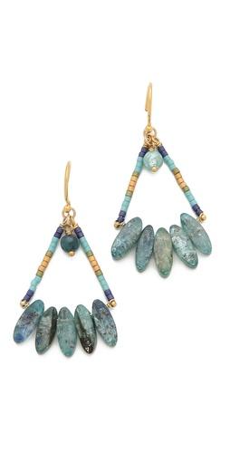 Chan Luu Wire Kyanite Earrings