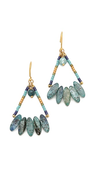 Chan Luu Wire Kyanite Earrings