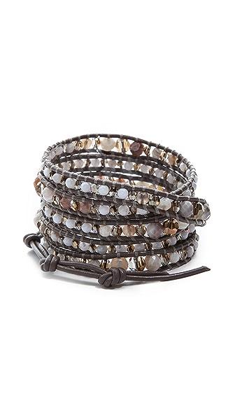 Chan Luu Botswana Beaded Wrap Bracelet
