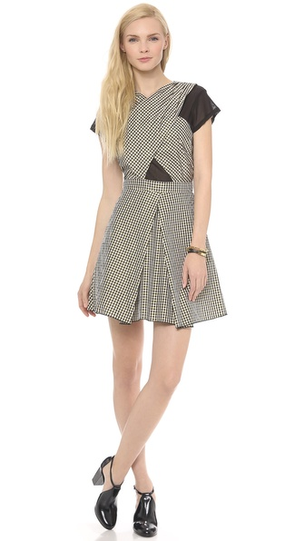 Charles Henry Cross Front Dress