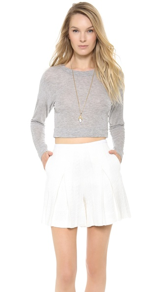 Charles Henry Cropped Pullover
