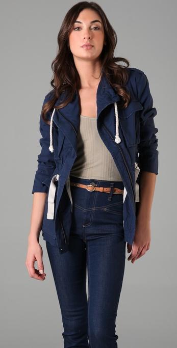 Charlotte Ronson Fisherman's Jacket