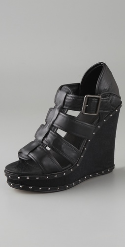 Charlotte Ronson Juliette Wedge Sandals