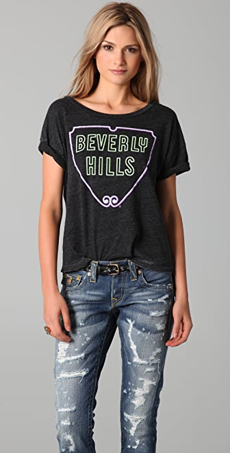 Chaser Neon Sign Beverly Hills Tee