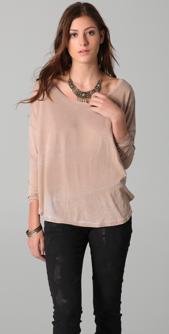 Chaser Shirttail Hem Top