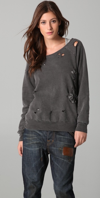 Chaser Destroyed Pullover