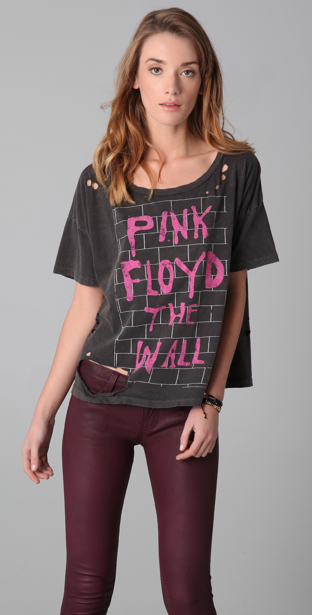 Chaser Pink Floyd The Wall Destroyed Tee