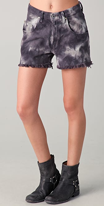 Chaser Recycled Denim Cut Off Shorts