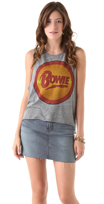 Chaser David Bowie Vintage Wash Muscle Tee