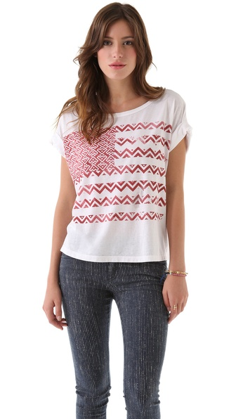 Chaser Tribal Flag Boxy Tee