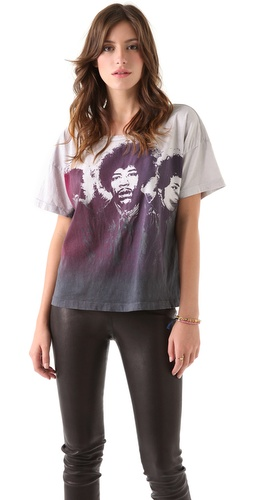 Chaser Jimi Hendrix Are You Experienced Boxy Tee