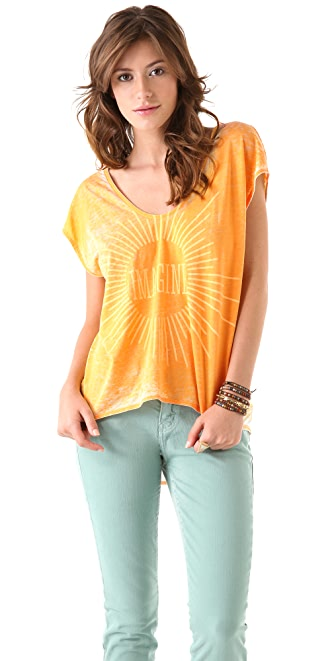 Chaser Imagine Shirttail Tee