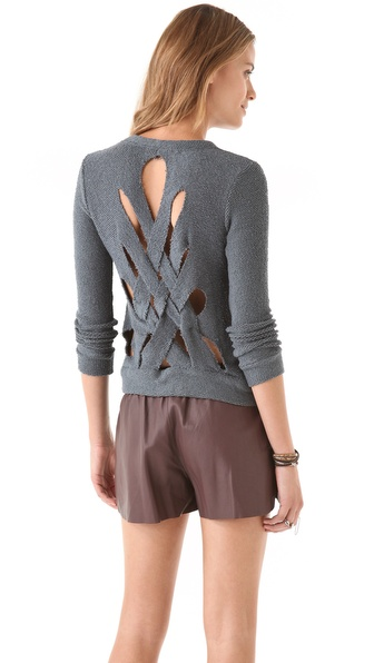 Chaser Weave Back Pullover