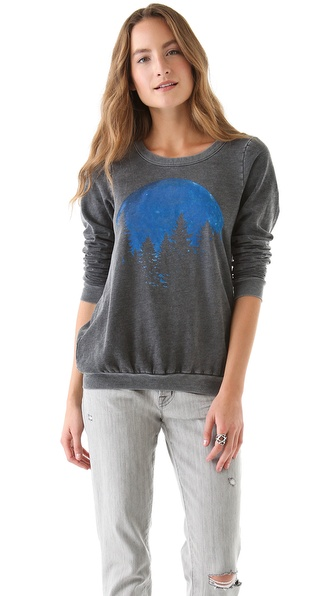 Chaser Blue Moon Pullover with Crossover Back