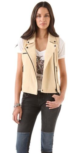 Chaser Leather Vest