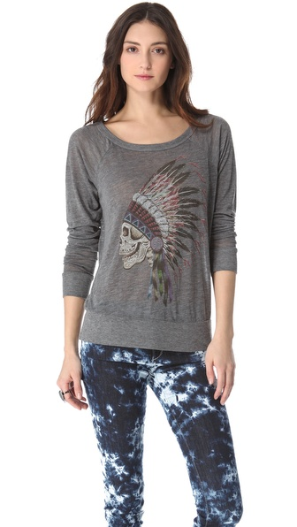 Chaser Dead Chief Raglan Top