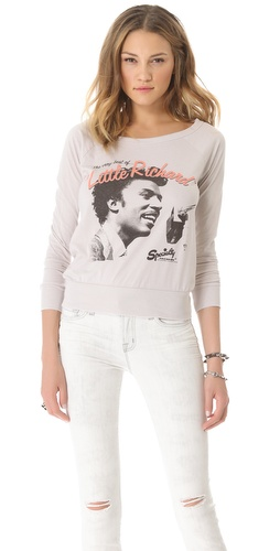 Shop Chaser Little Richard Raglan Top and Chaser online - Apparel,Womens,Tops,Tee, online Store