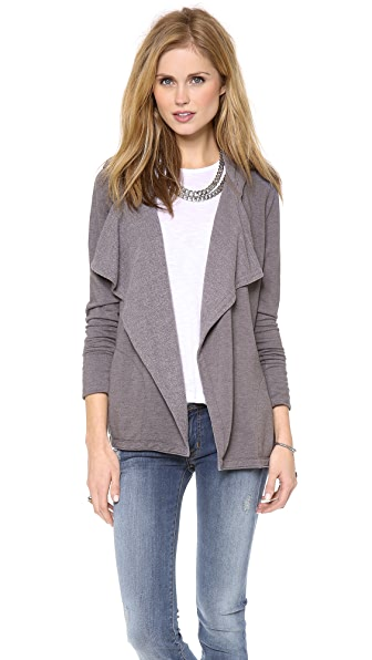 Chaser Long Sleeve Hooded Cardigan
