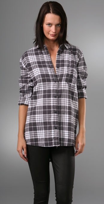 Cheap Monday Patty Plaid Shirt