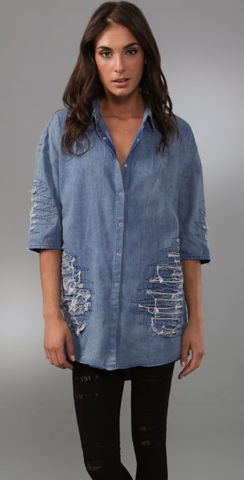 Cheap Monday Grace Chambray Tunic