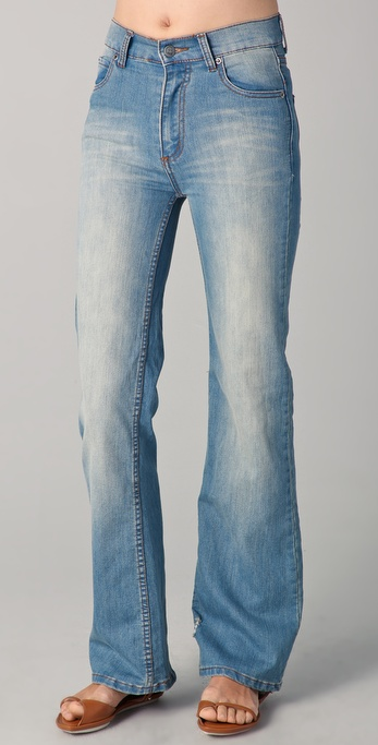 Cheap Monday Power Wide Leg Jeans
