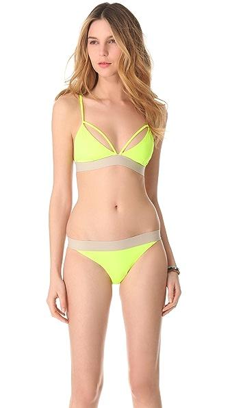 Cheap Monday X Strap Bikini Top