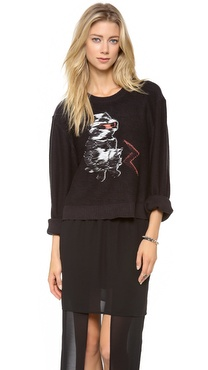 Cheap Monday Cat Monday Sweater