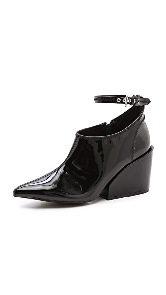 Cheap Monday Cube Ankle Strap Booties