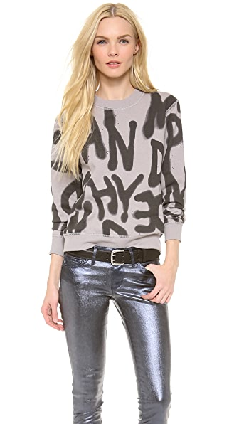Cheap Monday Ellie Spray Sweatshirt