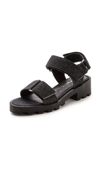 Cheap Monday Go Velcro Flat Sandals