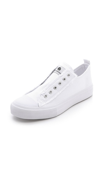 Cheap Monday Base Laceless Low Top Sneakers