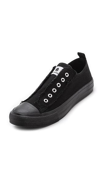 Cheap Monday Base Laceless Low Top Sneakers