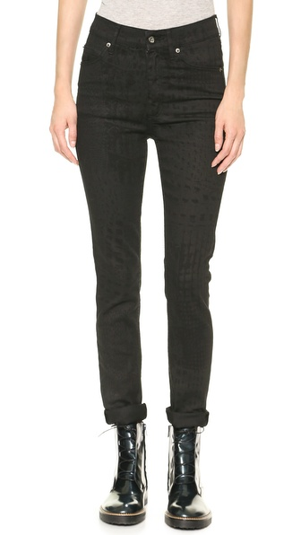 Cheap Monday Second Skin Croc Jeans