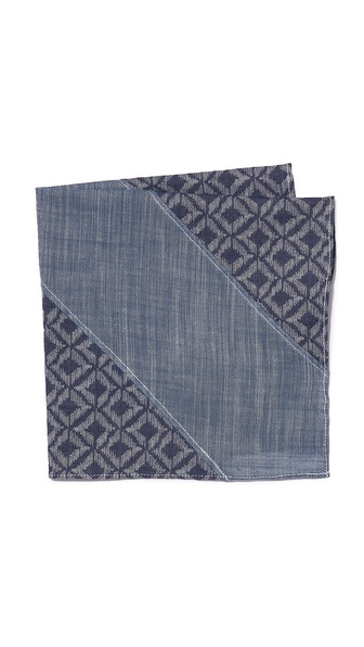 Chief Ashcan Pocket Square