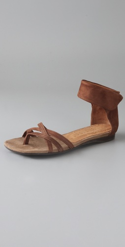 Chie Mihara Shoes Jilito Suede Flat Sandals
