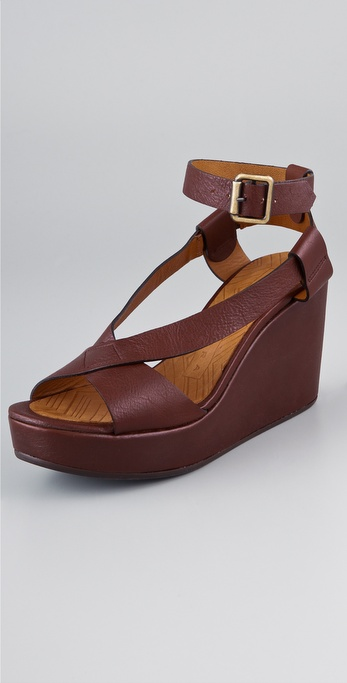Chie Mihara Shoes Doya Wedge Sandals