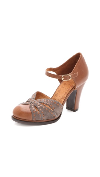 Chie Mihara Shoes Brogue d'Orsay Pumps