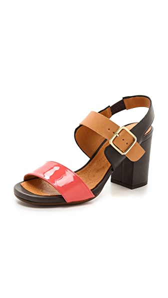 Chie Mihara Shoes Ruru Colorblock Sandals