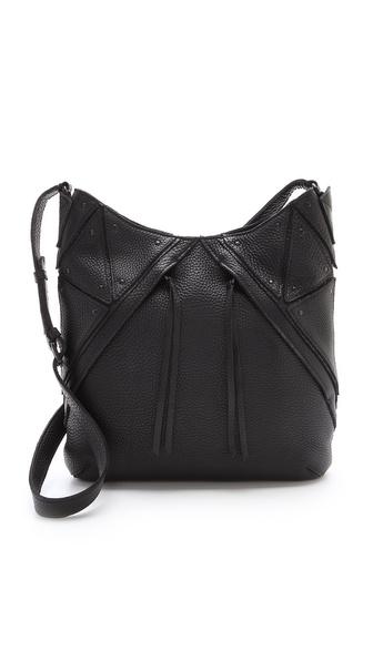 Christopher Kon Double Zip Cross Body Bag