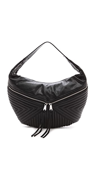 Christopher Kon Quilted Hobo Bag