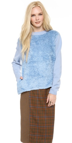 Chloe Sevigny for Opening Ceremony Fuzzy Pullover at Shopbop / East Dane